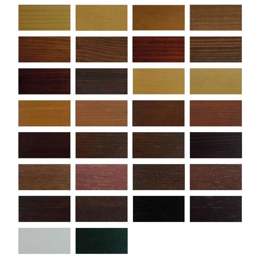 Colori Infissi In Alluminio tinte - f.lli bergamaschi
